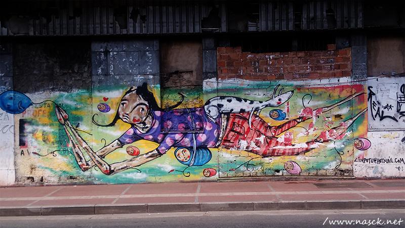 Grafite na Baixa do Sapateiro  - Salvador Bahia brasil
