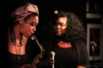 A força feminina do jazz Vol. I: Camilla George, Isang (2017)