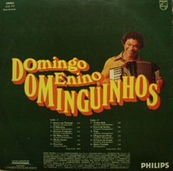 CONTRA-CAPA 1976 DOMINGO MENINO DOMINGUINHOS